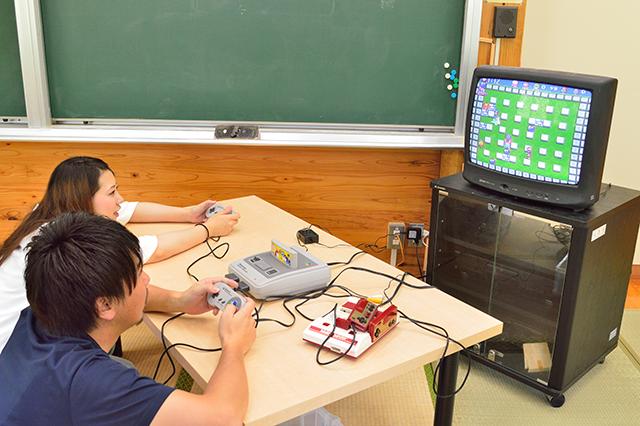 宮地東小学校 テレビゲーム