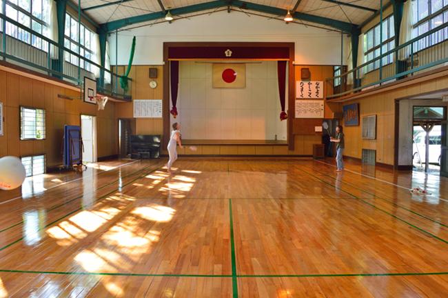 宮地東小学校 体育館