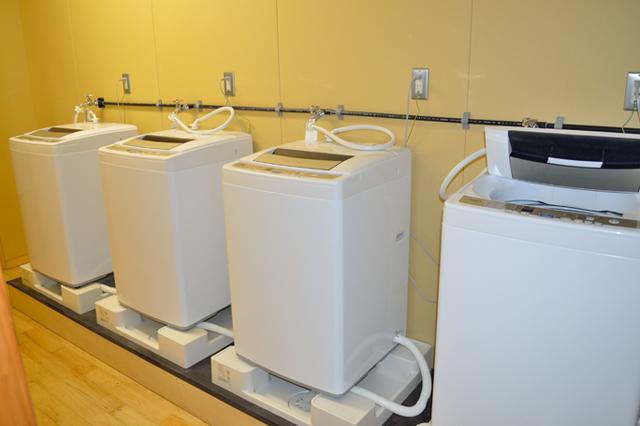 宮地東小学校 洗濯室